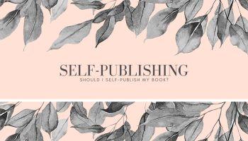 Should I self-publish my book