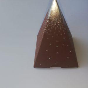 Contenant Pyramide pluie d'étoile Café