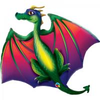 Ballon aluminium dragon
