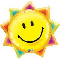 Ballon aluminium soleil