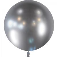 Ballon métallique argent 60cm