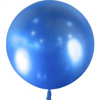 Ballon métallique Bleu 60cm