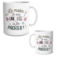 """Mug """"Le matin je suis une fée..."""""""