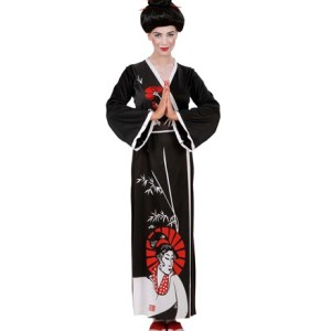Déguisement Geisha Noir