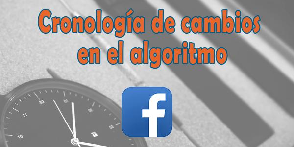 Los cambios de algoritmo de Facebook