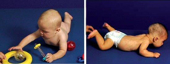 Typowy i nietypowy rozwój 6-miesięcznego dziecka - na brzuchu