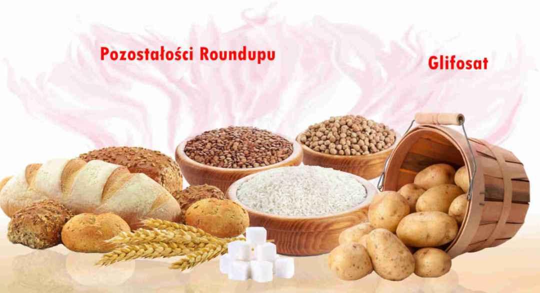 Sekretne składniki-Pozostałości Roundupu