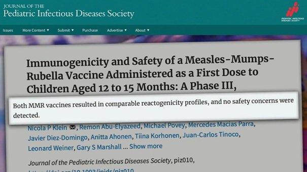 Porównanie bezpieczeństwa szczepionek MMR - porównywalne profile reaktogenności