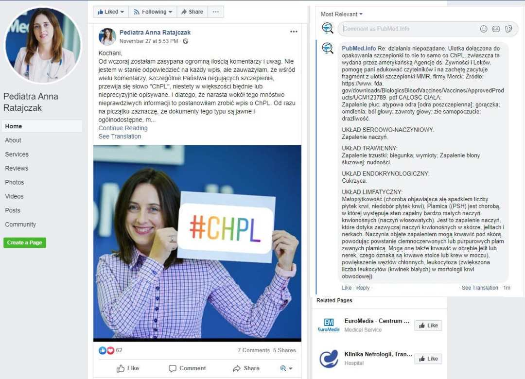 Lekarka Anna Ratajczak - ChPL