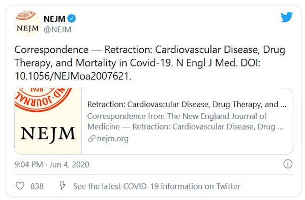 Wycofanie_Cardiovascular Disease, Drug Therapy, and Mortality in Covid-19