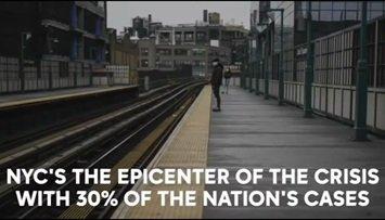 Nowy Jork - epicentrum kryzysu. Stąd pochodzi 30% wszystkich odnotowanych przypadków w kraju