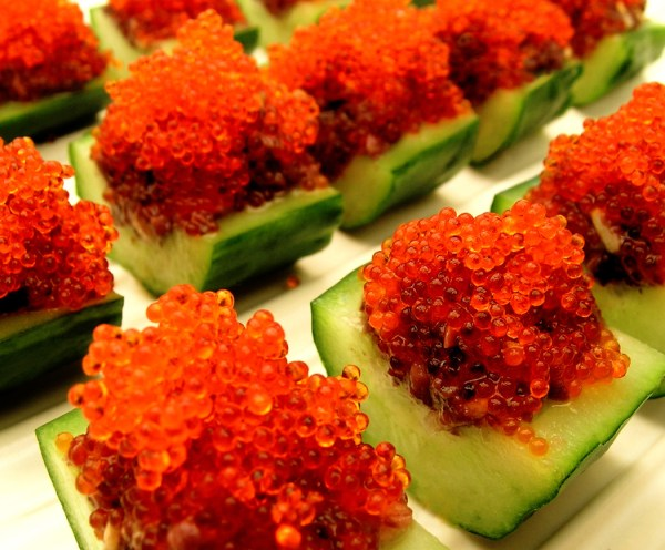 Fish Egg Sushi Garnish - Year of Clean Water
