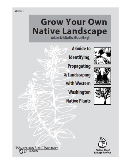WSU Extension Publications|Grow Your Own Native Landscape