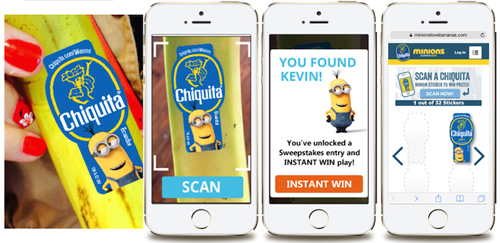 Chiquita Minions Sticker Scanner 2 web
