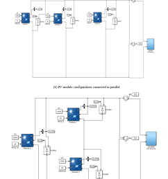 simulink models with respect to pv array configurations analysis of partial shading effects of solar pv module configurations using matlab simulink  [ 810 x 1943 Pixel ]