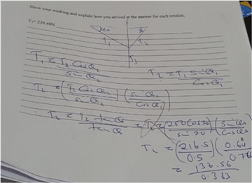 Physico-mathematical Conceptual Difficulties among First
