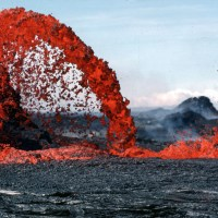 """Forget Rainbows...Here's a """"Lava Bow"""""""