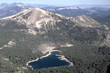 Carbon Dioxide Discharge from Mammoth Mountain Long
