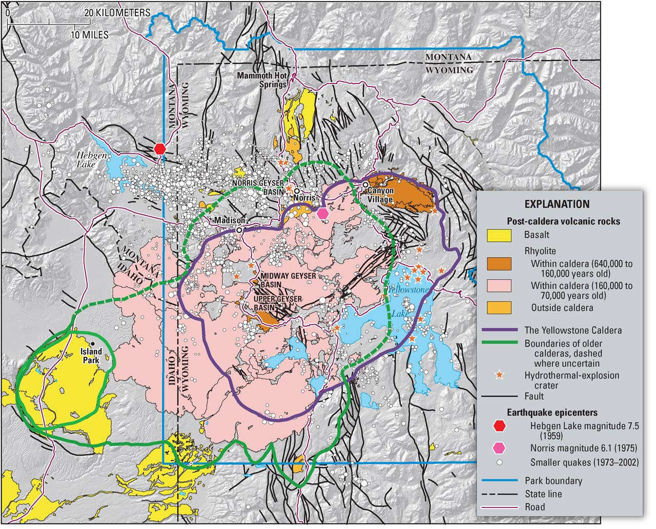 yellowstone volcano diagram vw polo 6n2 electric window wiring volcanic hazards of national park