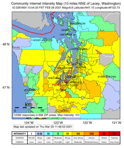 earthquake diagram with labels car equalizer wiring did you feel it community made shaking maps usgs fact map showing intensity for the nisqually on 2 28 01