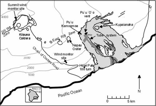 Hawaii Volcano Eruption 2018 Map Usgs