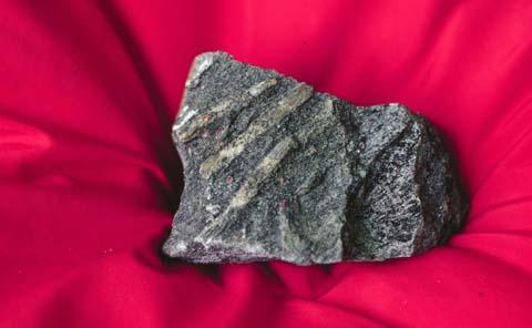 Foliated metamorphic rock