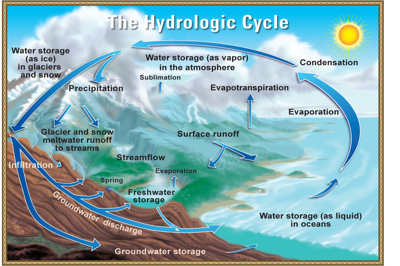 picture of water cycle diagram starter relay wiring hydrologic pictures posters news and videos on