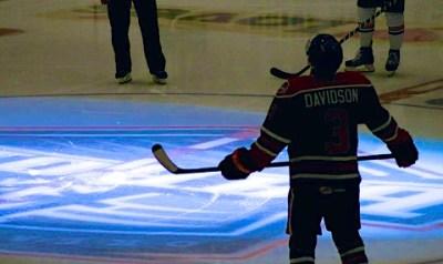 The return of Brandon Davidson after cancer treatments.