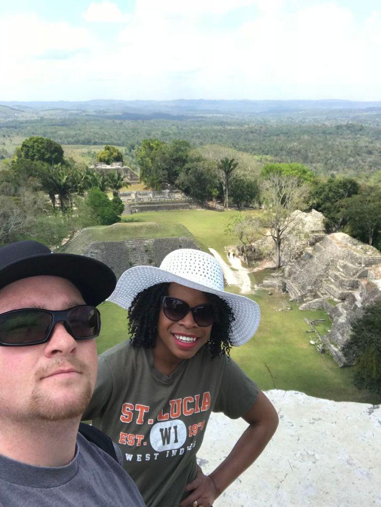 Xunantunich Mayan Archaeological site in Belize
