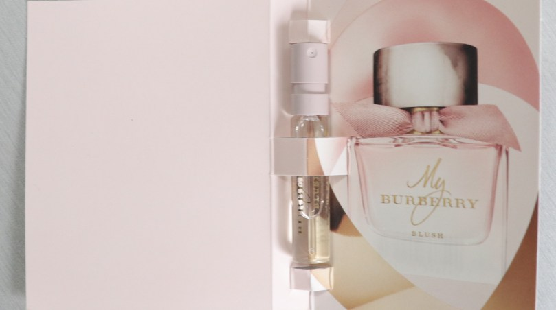 My Burberry Fragrance in the scent Blush