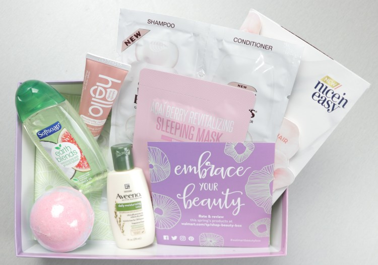 Walmart Beauty Box Spring 2018