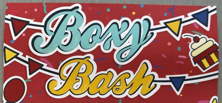 Boxycharm May 2018 - Boxy Bash