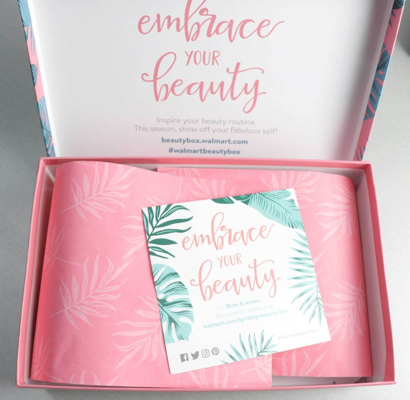 Walmart Beauty Box Summer 2018