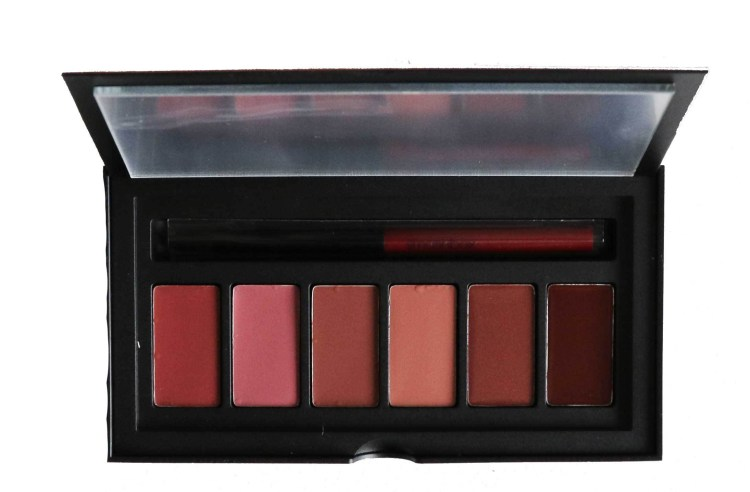 Smashbox Be Legendary Pucker Up Lipstick Palette - Neutral (3 mattes and 3 Creams)