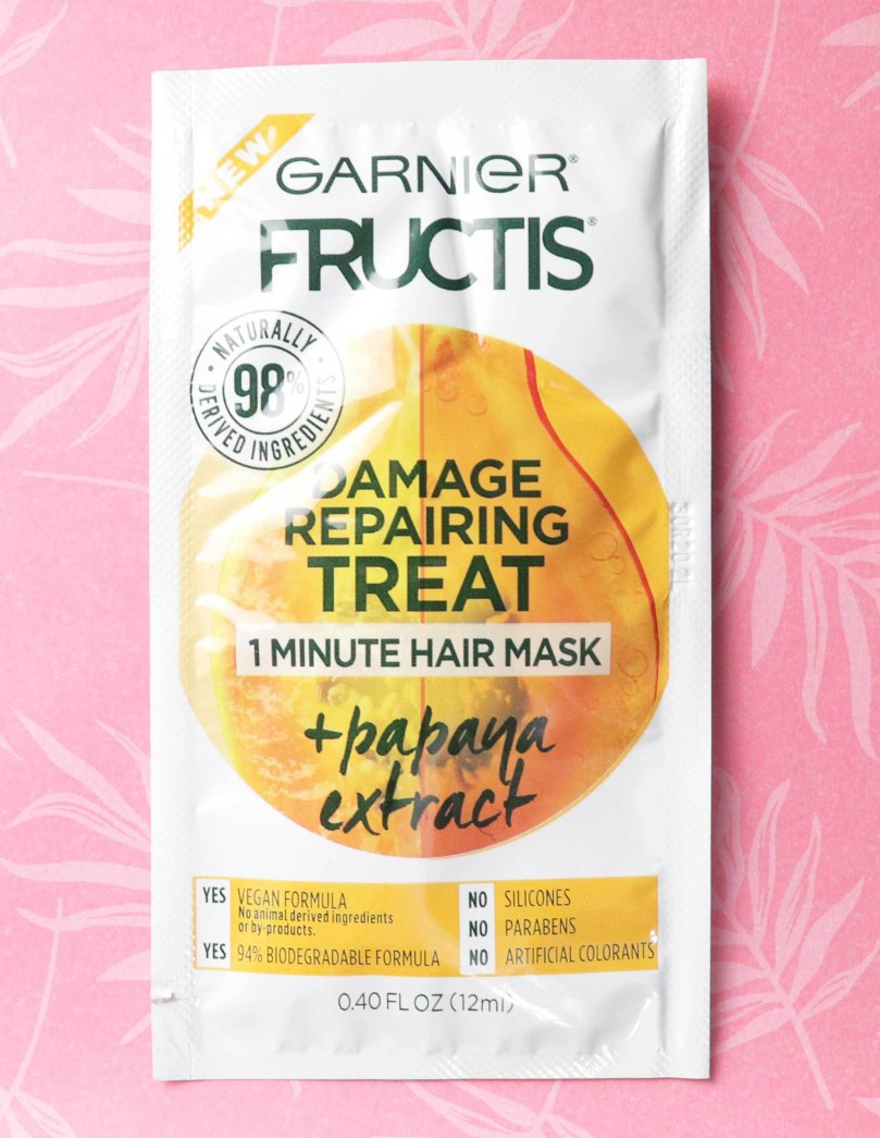 Garnier Fructis Damage Repair Hair Treatment 1 Minute Mask