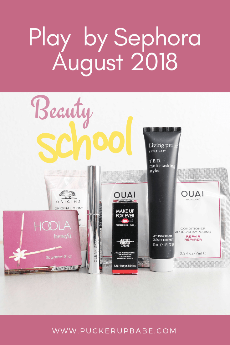 Play by Sephora - August 2018