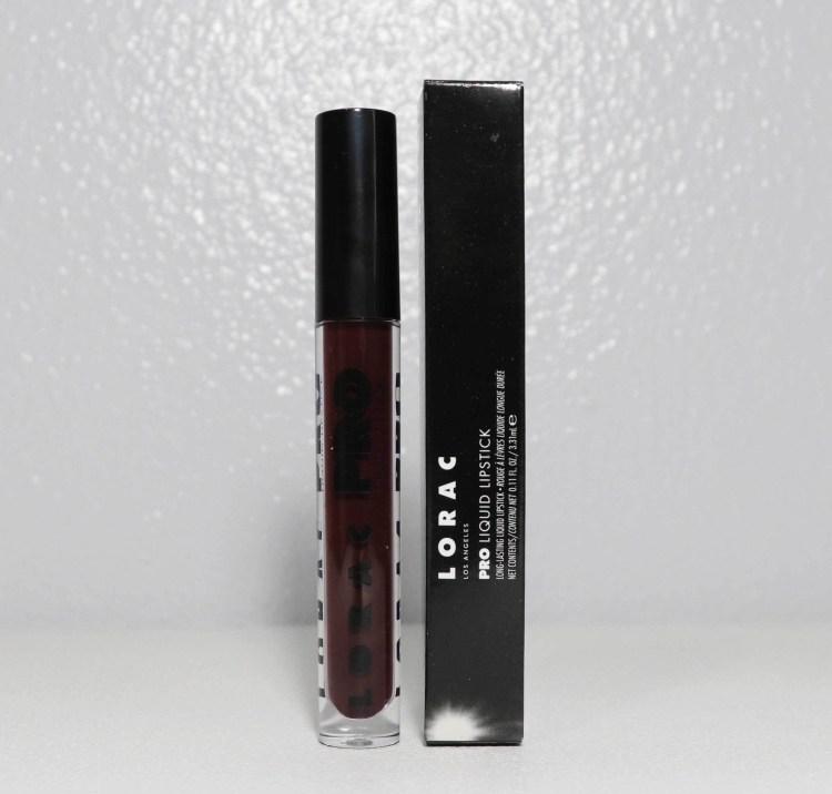 Lorac - Pro Liquid Lipstick in Black Cherry