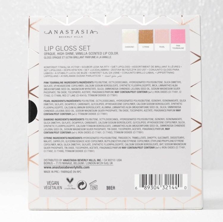 Anastasia Beverly Hills Mini Lip Gloss Set