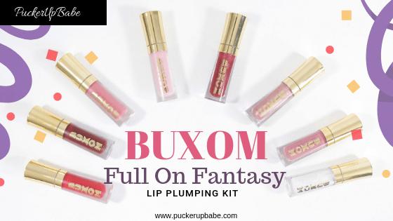Buxom Full On Fantasy Lip Plumping Kit
