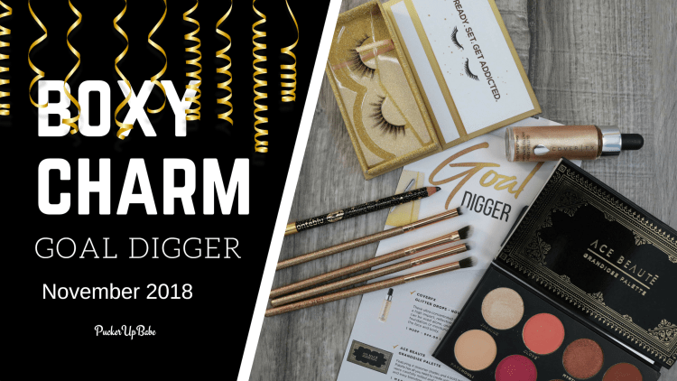 Boxycharm November 2018 | PuckerUpBabe