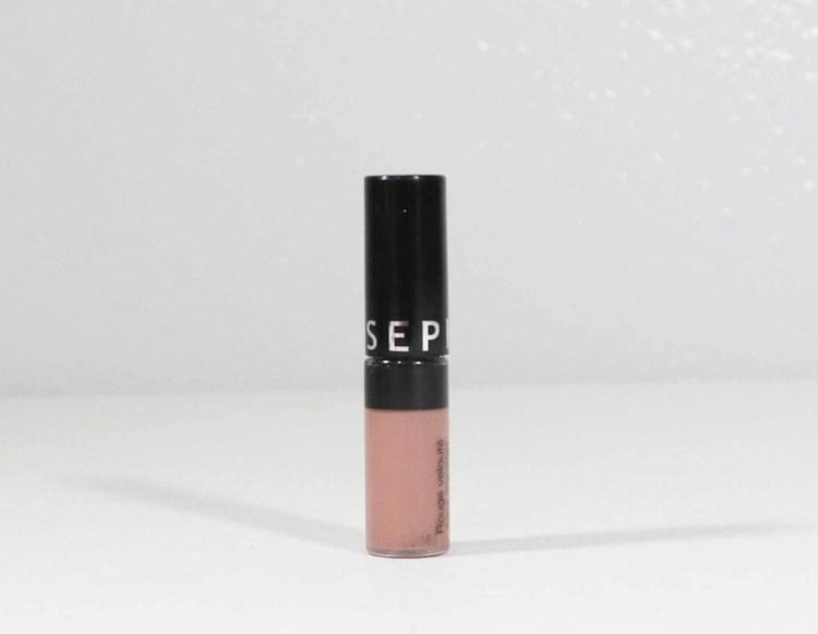 Sephora Cream Lip Stain Liquid Lipstick in Pink Tea