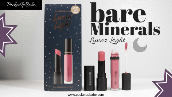 bareMinerals Lunar Light Lipstick Duo