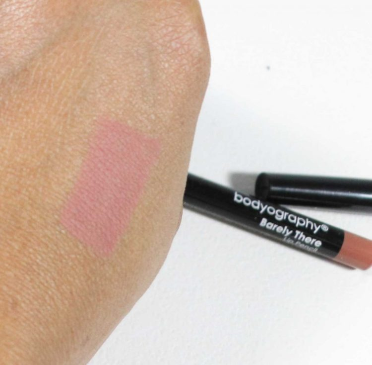 Bodyography Lip Pencil in Barely There