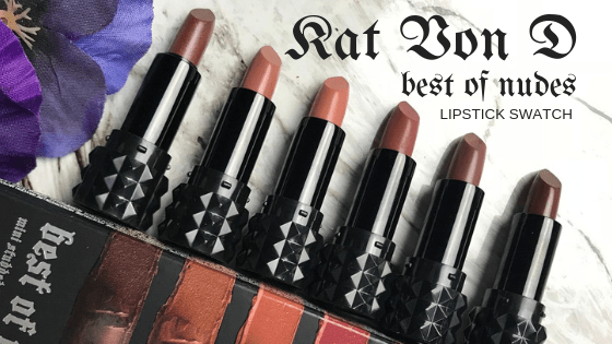 Kat Von D Best of Nudes Lipstick Set