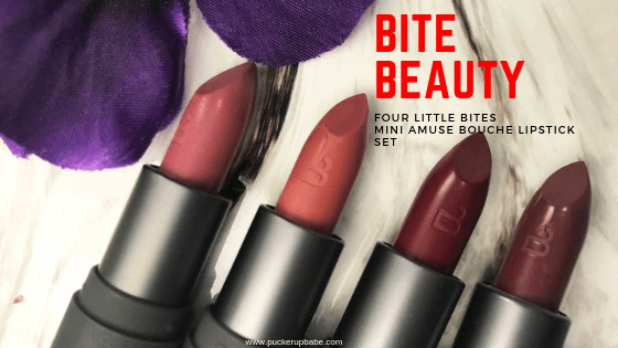 Bite Beauty Four Little Bites Mini Amuse Bouche Lipstick Set