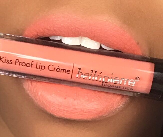Bellapierre Kiss Proof Lip Creme in Coral Stone