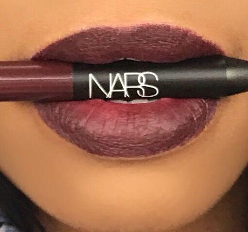 NARS Velvet Matte Lip Pencil in Train Bleu
