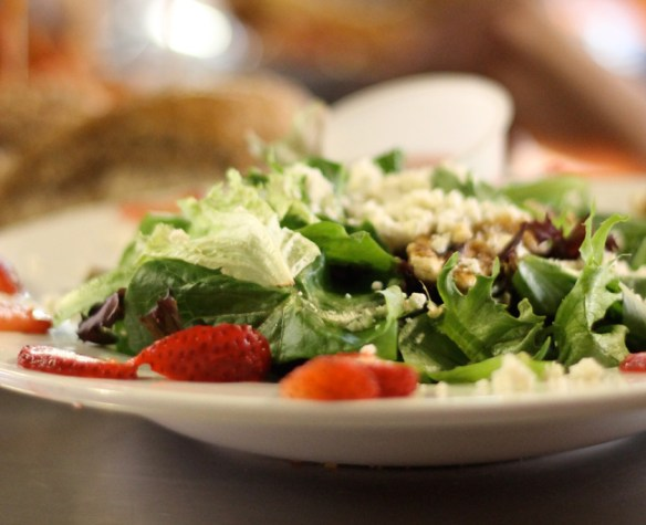 Another tasty salad ready to eat at Puckett's!