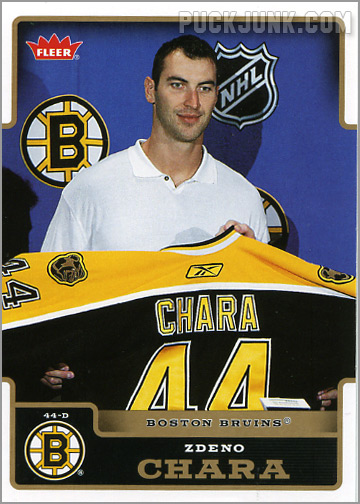 2006-07 Fleer #18 - Zdeno Chara