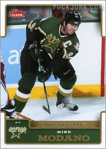 2006-07 Fleer #62 - Mike Modano